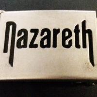 Nazareth – Gürtelschnalle / Buckle