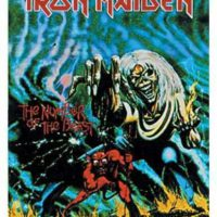 Iron Maiden – The number of the beast Postflagge / Poster flag