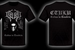 Ctulu – Cultus in Tenebris Shirt limited Silverprint Size L